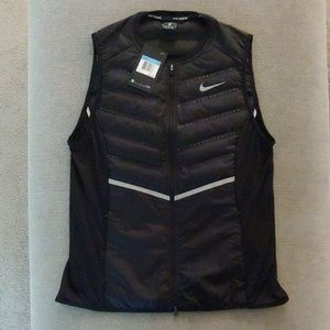 Nike Black Aeroloft Running Vest - Brand New